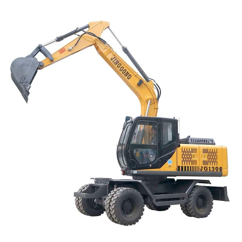 China Wheel Excavator for Sale