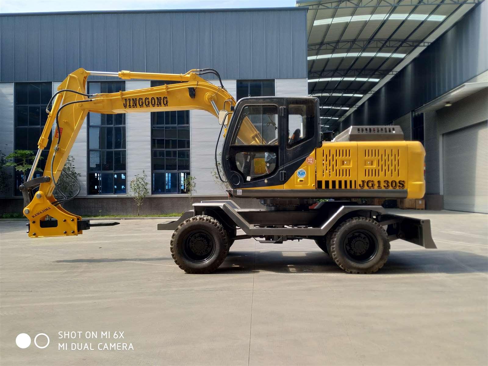 China Wheel Excavator