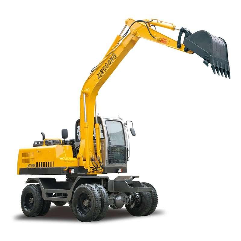 China Manufacturer of Wheel Excavator