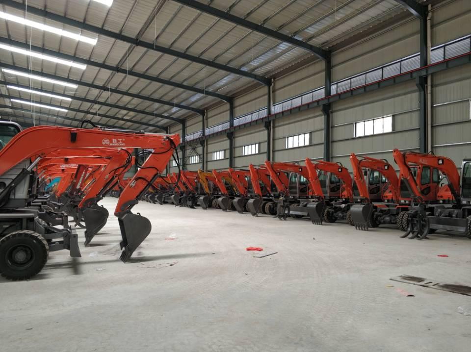 Wheel Excavator Factory