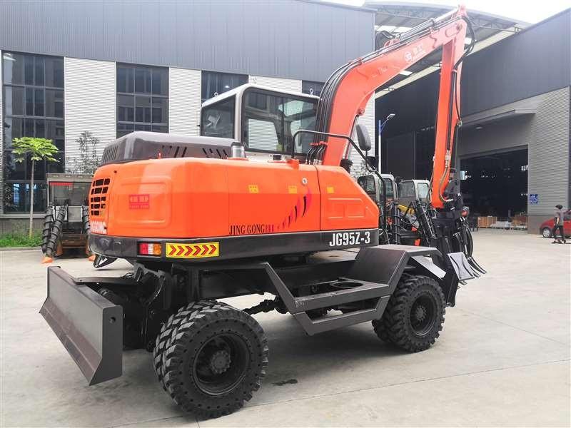 JG95Z-3 Wheel Excavator