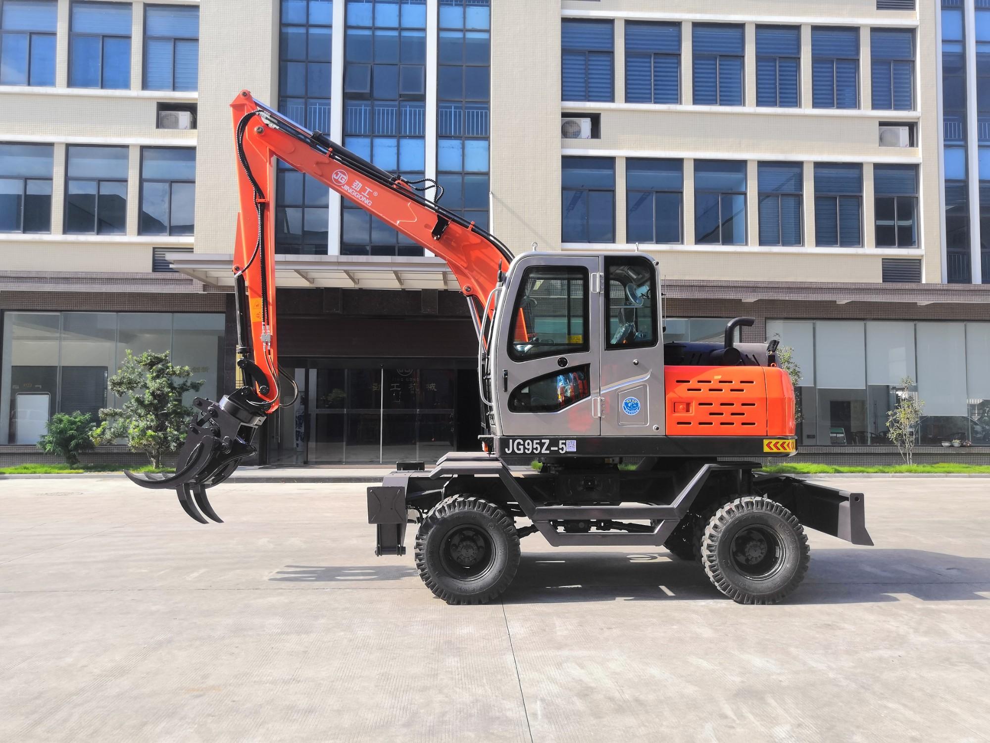 JG95Z-5 Wheel Excavator