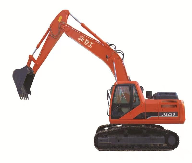 JG230L 23ton Crawler Excavator with Standard Bucket