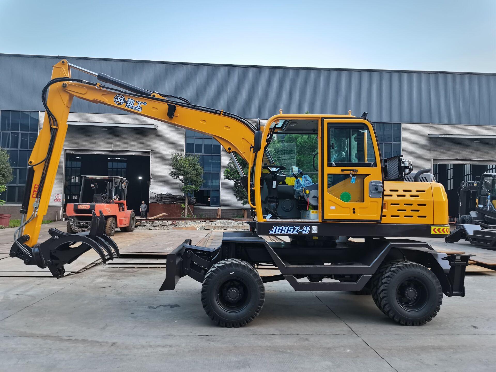 JG95Z-9 Wheel Excavator