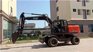JG150S Wheel excavator