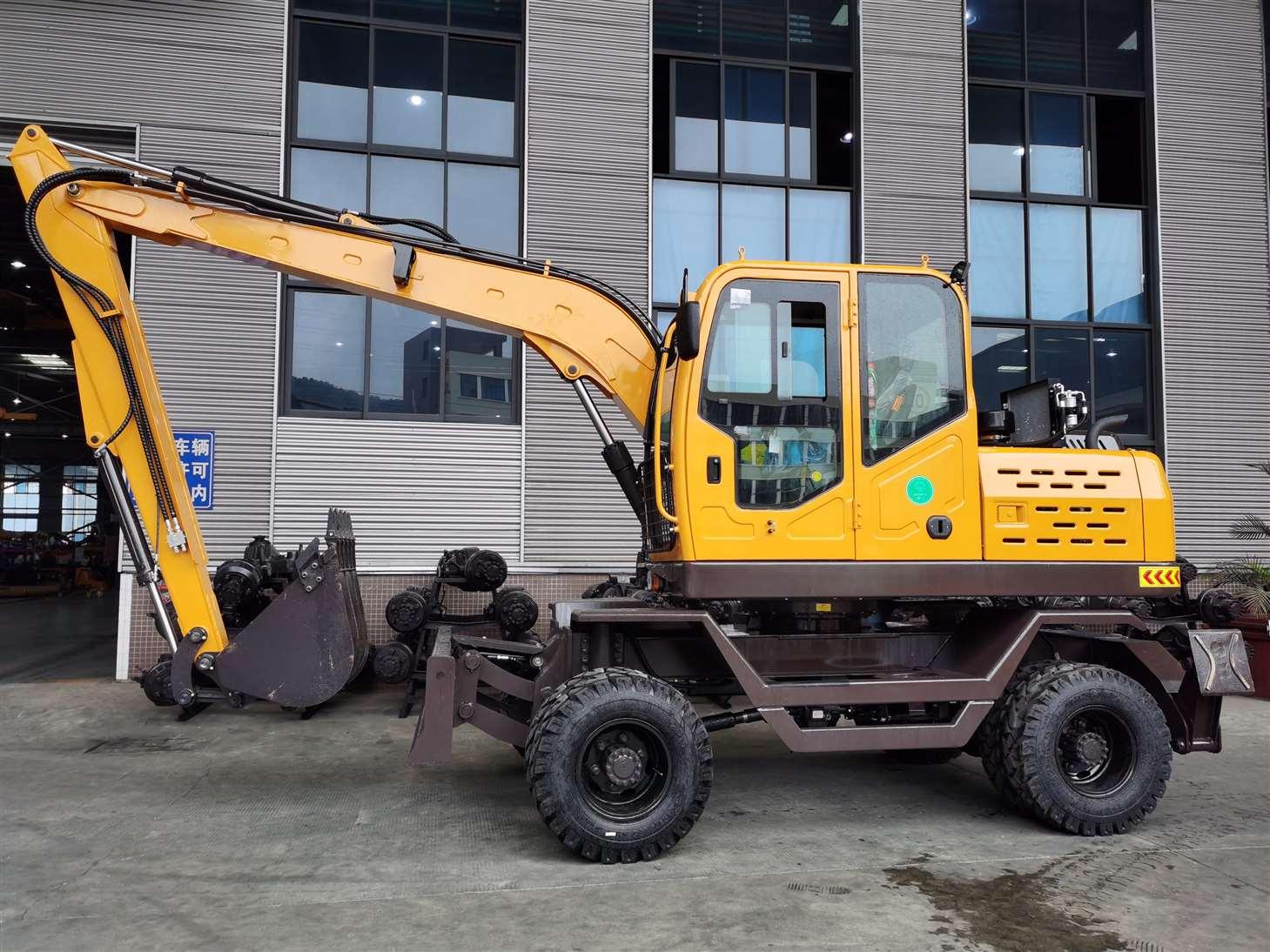 JG95Z-9A Wheel Excavator