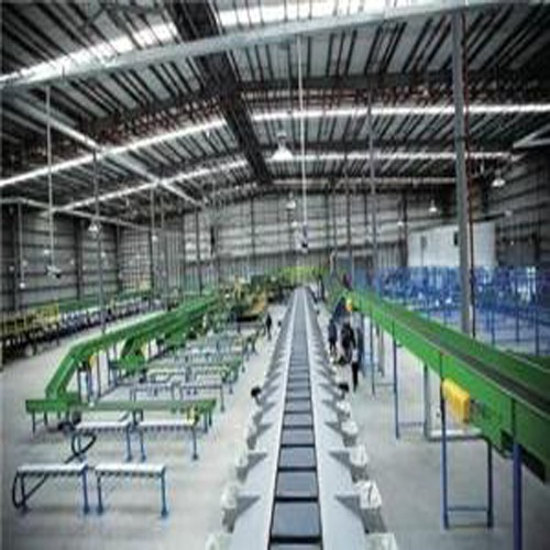 Automated Warehouse Sortation System