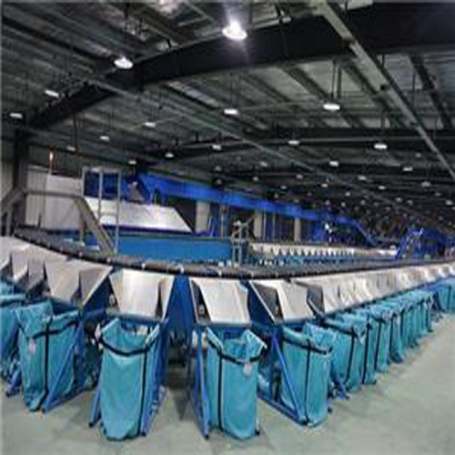 Distribution Center Automated Mail Sorting Machine