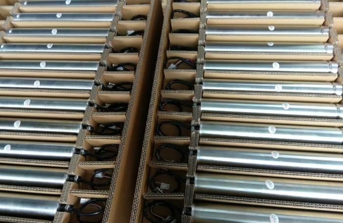direct drive motor roller