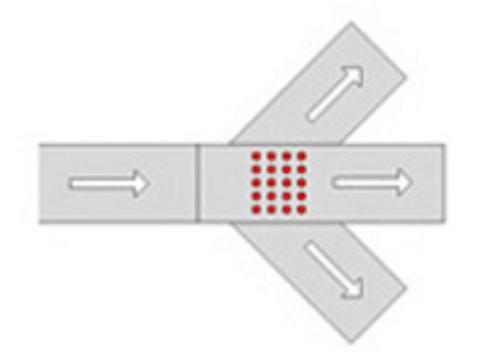 conveyor wave sorter
