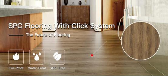 UTOP1807 4.0mm SPC Flooring