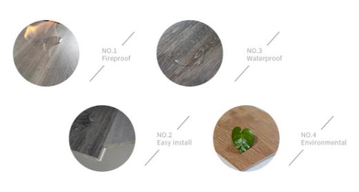 UTOP1810 5.0mm SPC Flooring