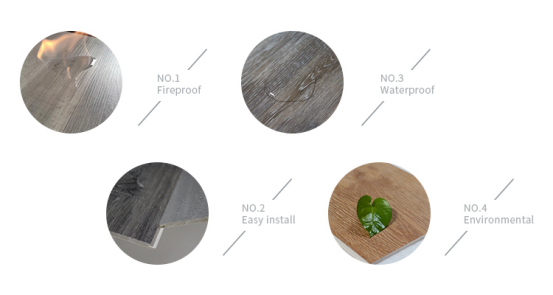 UTOP1853 3.2mm SPC Flooring,pvc plank flooring,spc vinyl plank