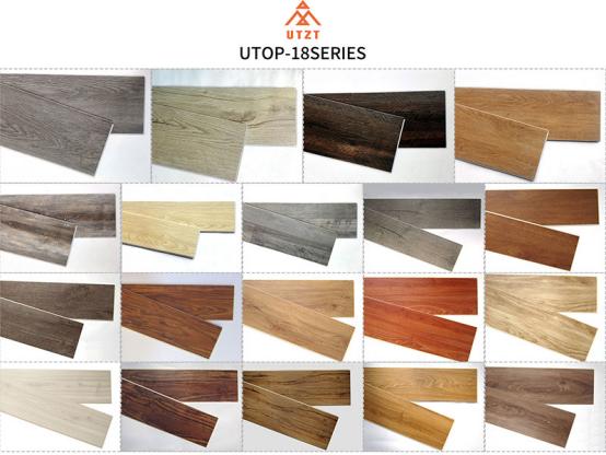 UTOP1854 4.0mm SPC Flooring,waterproof floating vinyl plank flooring,waterproof vinyl flooring for bathrooms