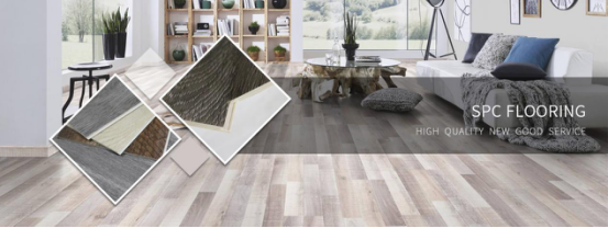 dark grey vinyl plank flooring