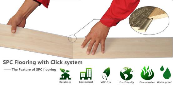 UTOP1856 3.2mm SPC Flooring