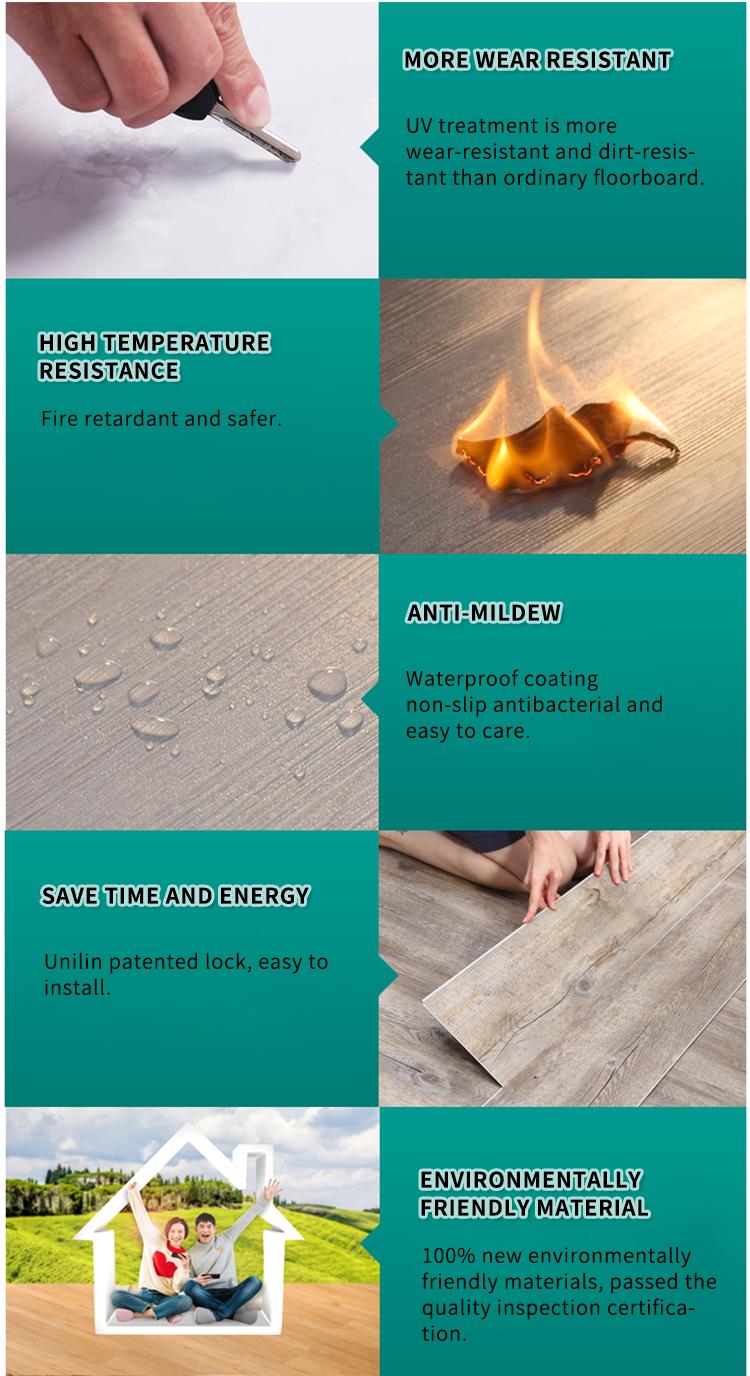 solid vinyl plank floor