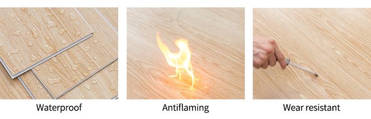fireproof spc flooring