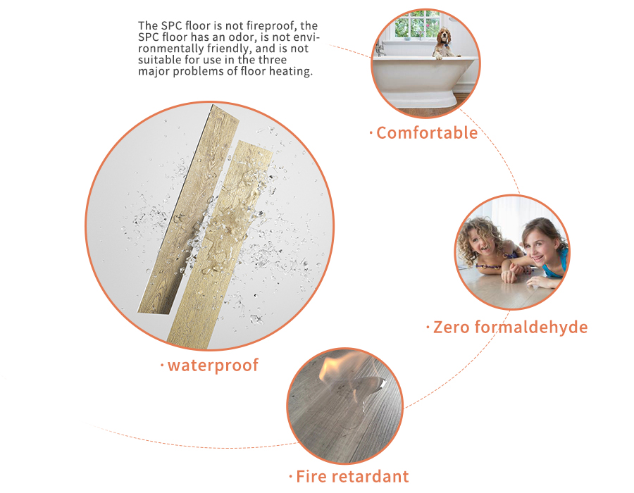 wear-resitance spc flooring,eco-friendly spc flooring,soundproof spc flooring