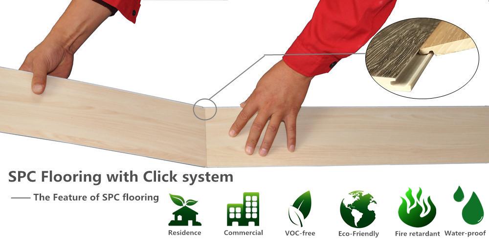 UTOP1851 3.2mm SPC Flooring