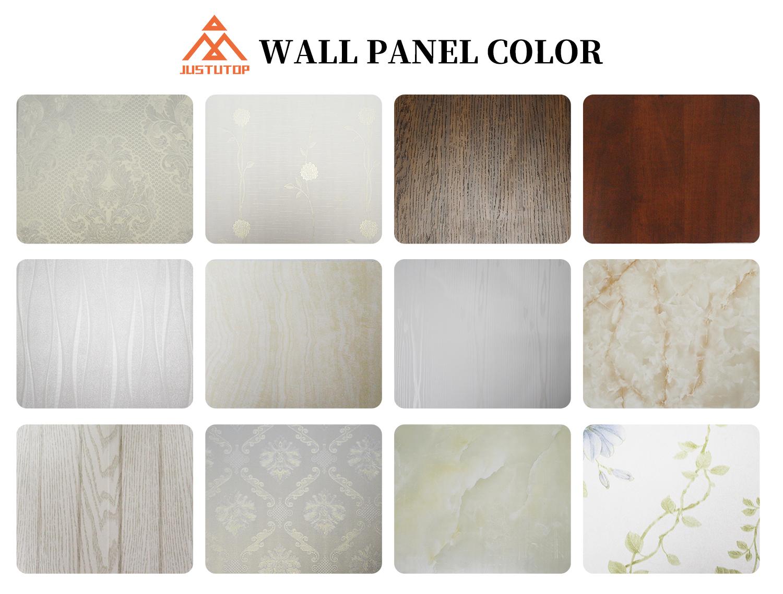 corrugated wall panels