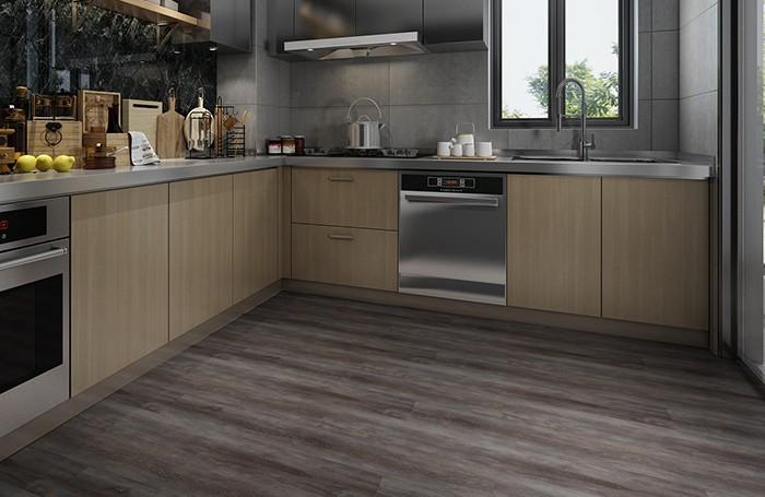 Easy Maintenance Kitchen 5.5mm SPC Flooring Manufacturers, Easy Maintenance Kitchen 5.5mm SPC Flooring Factory, Supply Easy Maintenance Kitchen 5.5mm SPC Flooring