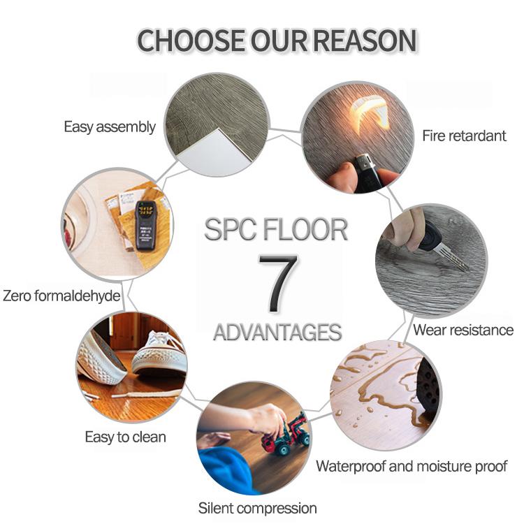 UTOP1810 5.5mm SPC Flooring