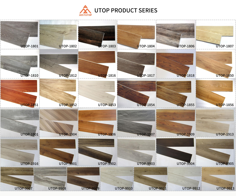 Renewable rigid vinyl plank spc flooring