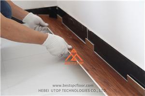 Ground renovation of SPC flooring