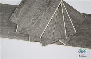 Grey 5.0mm Fire-resistance SPC Flooring