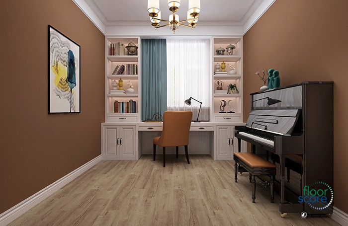 Wooden texture spc flooring with 4mm thickness Manufacturers, Wooden texture spc flooring with 4mm thickness Factory, Supply Wooden texture spc flooring with 4mm thickness