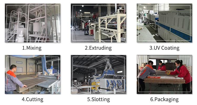 UTOP1855 5.5mm SPC Flooring