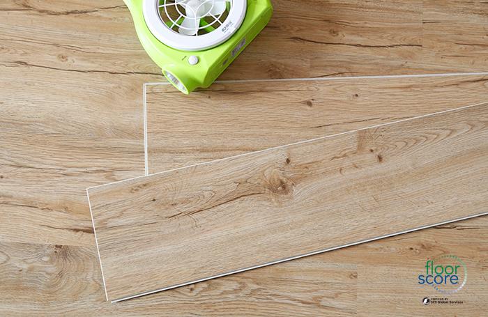 dark grey vinyl plank flooring