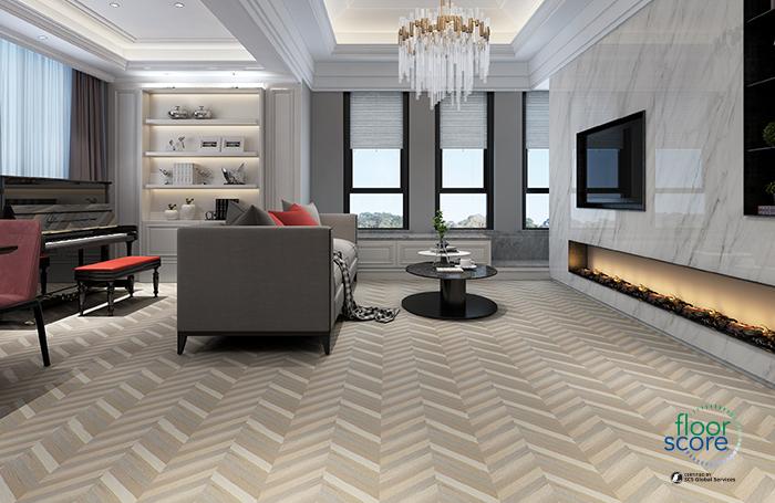 colorful spc flooring
