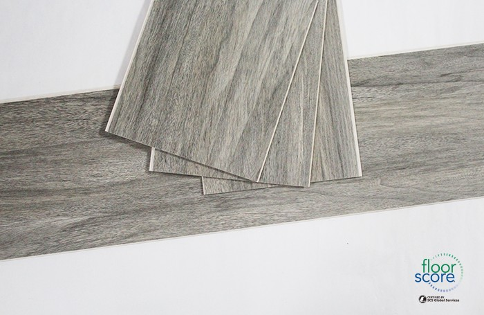 Dark Grey Vinyl Plank SPC Rigid Core Flooring Manufacturers, Dark Grey Vinyl Plank SPC Rigid Core Flooring Factory, Supply Dark Grey Vinyl Plank SPC Rigid Core Flooring