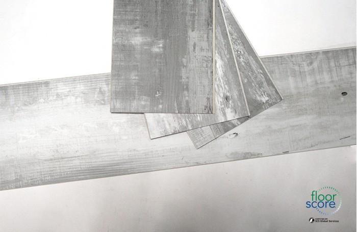 5.0mm Grey SPC Vinyl Sheet Click Flooring