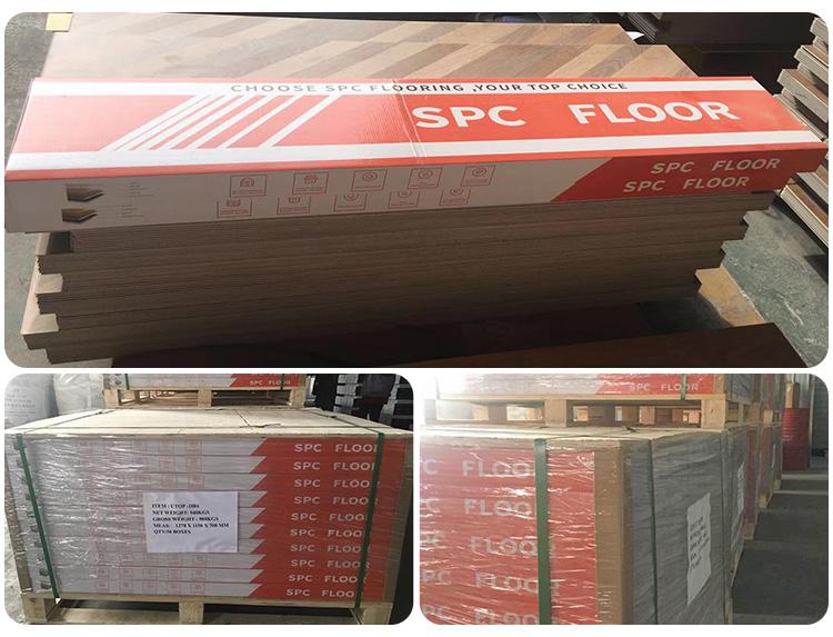Upgrade LVT rigid spc flooring