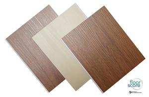 Natural wood grain spc flooring
