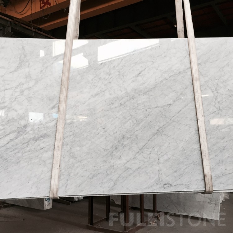 Bianco Carrara White Marble Slabs