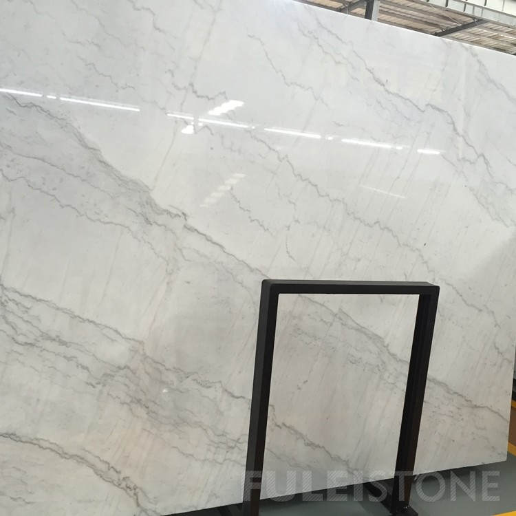 China Guangxi White Marble Slabs