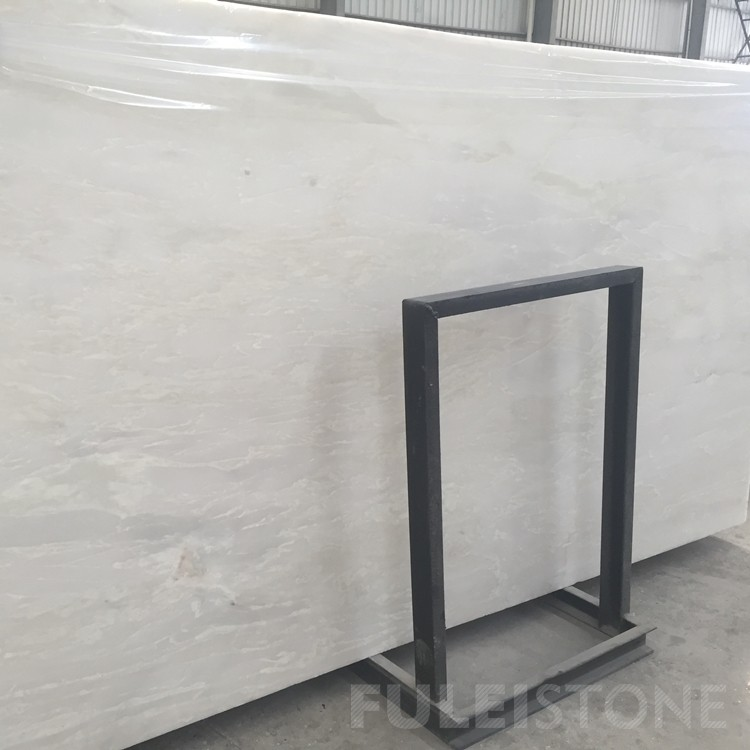 Polished Royal White Marble Slabs