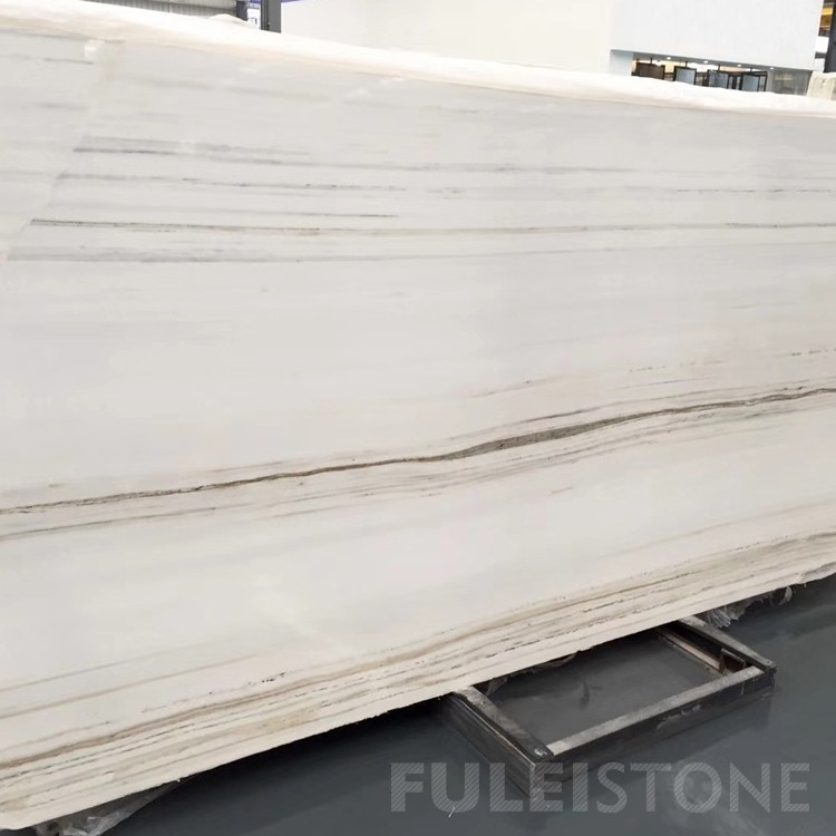 Onyx Ice White Marble Slabs