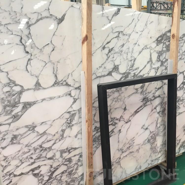 Italy Arabescato White Marble Slabs