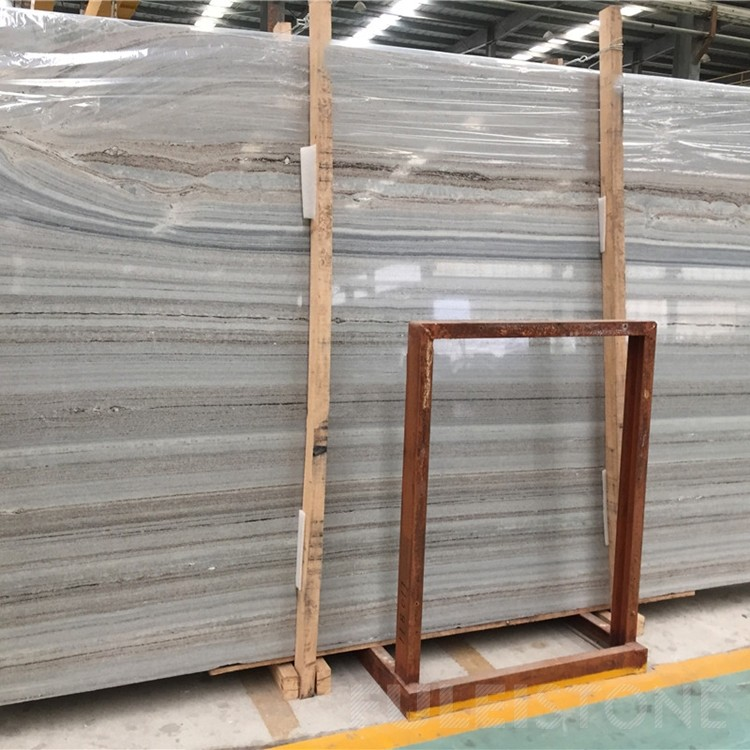 Crystal Wood Vein Marble Slabs