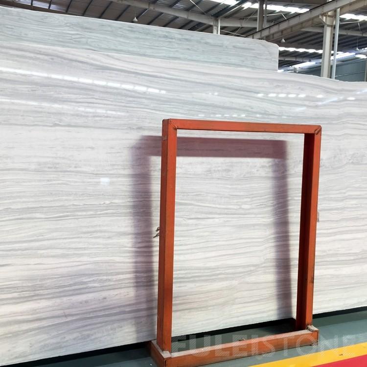 Nestos Semi White Marble Slabs