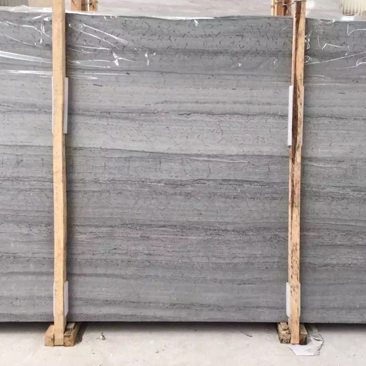 Wholesale China Blue Wood Marble Slabs
