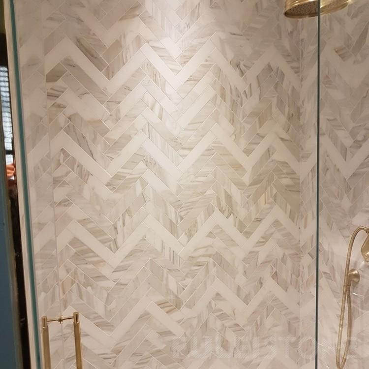 High quality 12x12' Calacatta Gold Marble Mosaic Tiles Quotes,China 12x12' Calacatta Gold Marble Mosaic Tiles Factory,12x12' Calacatta Gold Marble Mosaic Tiles Purchasing