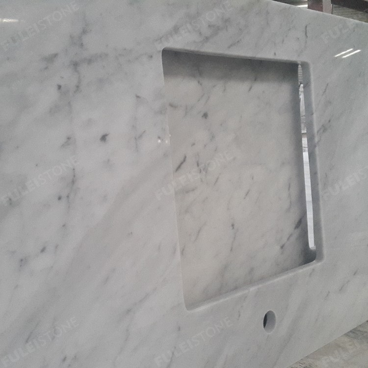 Carrara White Marble Countertops Factory