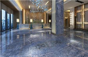 New Blue Azul Bahia for Lobby Decoration
