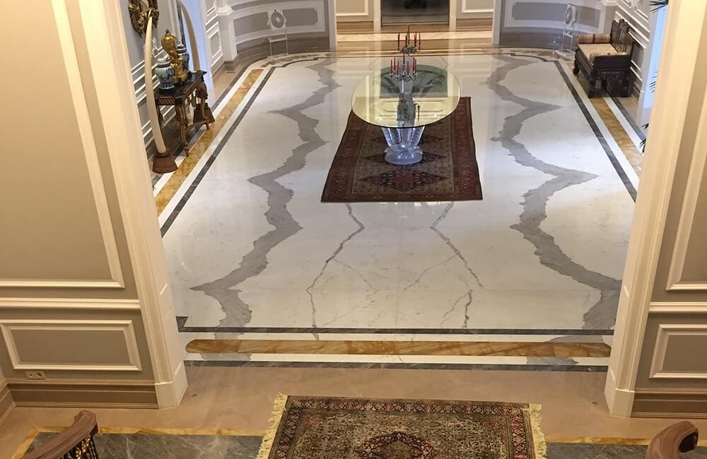 Calacatta Marble for Luxury Villa